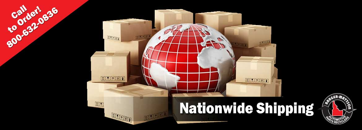 We Ship Used Auto Parts in Idaho and Nationwide